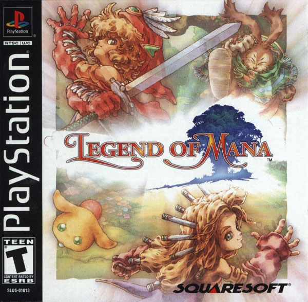 Legend of Mana (ccd) Front Cover